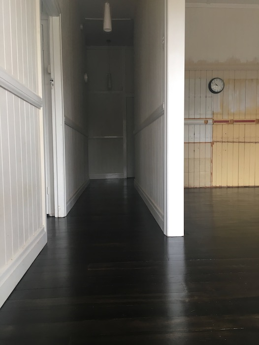 AFTER - Black Japan stain