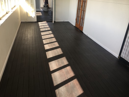 Black Japan Stain Floor Sanding Brisbane Jb Floor