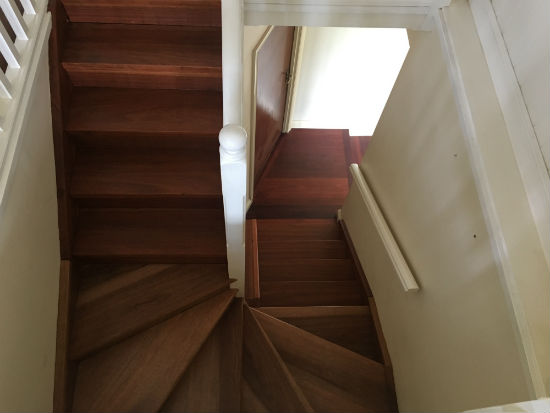 Timber Stair Polishing