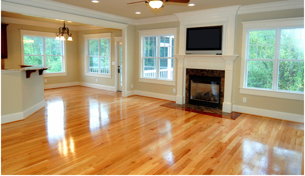 Oak Hardwood Floor Living Room
