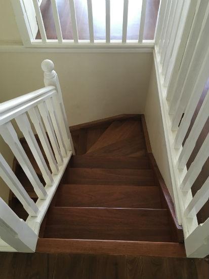 Timber Stair Polishing